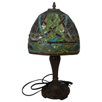 Image for Book of Kells Style Stained Glass Lamp