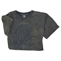 Image for Vintage Wash Celtic Cross Tee