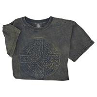 Image for Vintage Wash Celtic Cross Tee