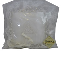 Image for Embroidered Trinity Ring Pillow