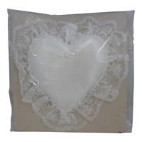 Image for Satin Heart Ring Pillow