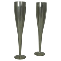Image for Mullingar Pewter Champagne Flutes