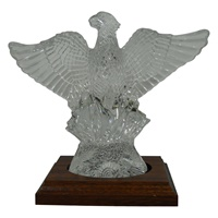 Image for Waterford Crystal Phoenix with Wooden Stand