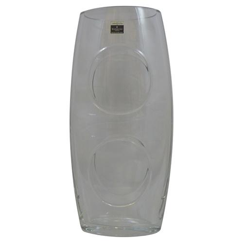 Waterford Crystal 12 Oval John Rocha Vase Tipperary Irish