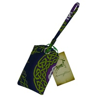Image for Celtic Weave Cloth Luggage Tag