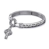 Image for Irish Blesssing Stretch Bracelet