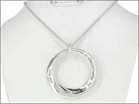 Image for Silvertone Irish Blessing Pendant
