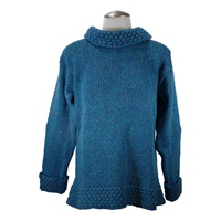 Image for Ladies Berry Sweater by Rossan Knitwear - Ocean