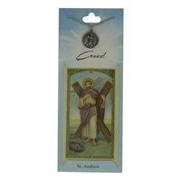 Image for Creed Rosary St. Andrew Pendant w/Prayer Card