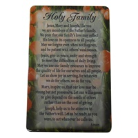 Image for Holy Family Prayer Card