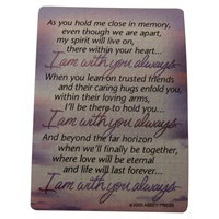 "Image for ""I Am With You Always..."" Wallet Card"
