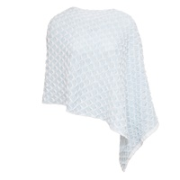 Image for Ocean Ripple Poncho Azure