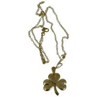 Image for Shamrock Necklace 10K Yellow Gold