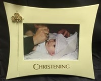Image for Shamrock and Trinity Christening Frame