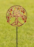 Image for Celtic Tree Of Life Garden Stake