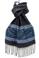 Image for Celtic Beastie Owl Jacquard Scarf