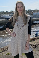 Image for Irish Linen and Cotton Large Sally Dress, Oat