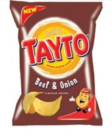 Image for Tayto Beef and Onion Crisps 37.5g