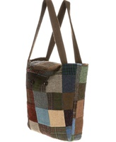 Image for Hanna Hats Patchwork Tweed Reversible Bag