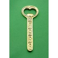 Image for Celtic Design Plain Brass Bottle Opener