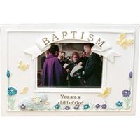 Image for Child of God Baptism Frame with Easel Back