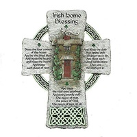 "Image for ""Irish Home Blessing"" Wall Cross"