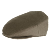 Image for Hanna Vintage Style Irish Linen Hat, Khaki Green
