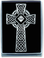 Image for BF 1st Communion Celtic Knot Wall Cross