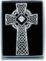 Image for BF Confirmation Celtic Knot Wall Cross