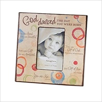 Image for God Danced Photo Frame