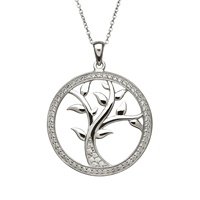 Image for Tree of Life Pendant Sterling Silver