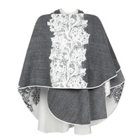 Image for Irish Lace Shawl by Jimmy Hourihan Grey and Ivory