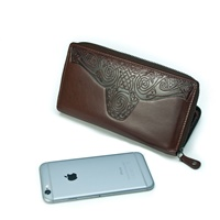 Image for Roisin Ladies Large Leather Wallet, Brown by Lee River