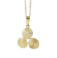 Image for Newgrange Spiral Pendant 10K