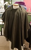 Image for Donegal Irish Tweed Cape, Connemara Green - Jimmy Hourihan