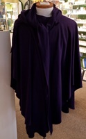 Image for Wool and Cashmere Cape, Deep Purple
