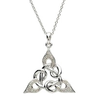 Image for Silver Celtic Knot Design Pendant