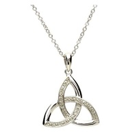 Image for Celtic Trinity Diamond Set Pendant