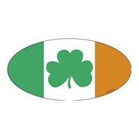 Image for Ireland Flag Bumper Sticker