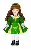 Image for Niamh Irish Dancer Porcelain Doll