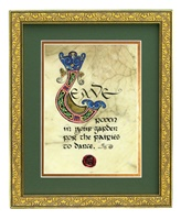 Image for Gold Framed Garden... to Dance Print 8 x 10