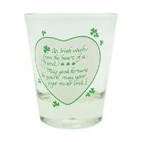 Image for An Irish Wish Shot Glass