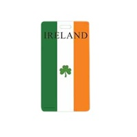 Image for Irish Tricolour Luggage Tag