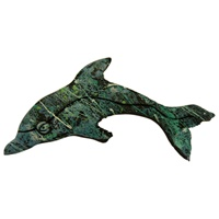 Image for Bill Baber Acrylic Dolphin Brooch