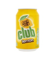 Image for Club Lemon Soft Drink 330ml