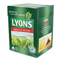 Image for Lyons Original Blend Tea Bags 80s