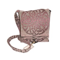 Image for Celtic Knot Shoulder Bag - Foxglove