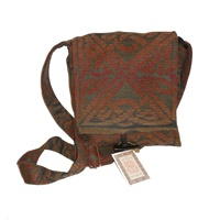 Image for Celtic Knot Shoulder Bag - Redwood