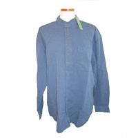 Image for Irish Civilian Heritage Linen Grandfather Shirt - Ink