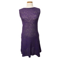 Image for Irish Linen and Cotton Small Sally Dress, Grape